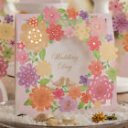 Blank Free Personlized Laser Cut Wedding Invtation Cards With Envelope Seals
