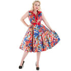 H&R London Vintage Kleid - Amazon Floral