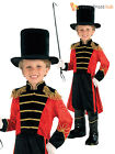 Boys Ring Master Fancy Dress Costume Circus Kids Child Fancy Dress Book Week Day