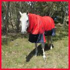 LOVE MY HORSE 600D 200g 5'6 5'9 6'0 6'9 Ripstop Winter Combo Waterproof Rug Red