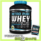 BioTech USA NITRO PURE WHEY PROTEIN 454G 908G 2270G 4KG WHEY ISOLATE CONCENTRATE