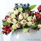 1 PCS Artificial Plastic small Pomegranate Bush Berry Home Decoration F350