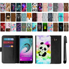 "For Samsung Galaxy A5 A510 5.2"" 2nd Gen 2016 Flip Leather POUCH Case Cover + Pen"