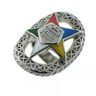 Masonic rings ebay Order of the Eastern Star Ring - Silver Color Web OES Rings