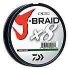 Kyпить Daiwa J-Braid X8 Braided Fishing Line - 330 Yards (300M) Dark Green Fishing Line на еВаy.соm