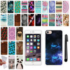 For Apple iPhone 7 4.7 inch TPU SILICONE Rubber Soft Protective Case Cover + Pen