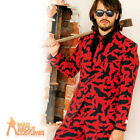 Bat Guy Opposuit Original Costume Mens Halloween Fancy Dress Outfit Stag New
