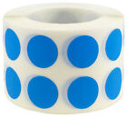 Circle Dot Stickers, 1/2 Inch Round, 1000 on a Roll, 38 Color Choices