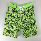 Insight Calligraffiti Board Shorts Lime Brand new in box in sizes 30
