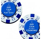 Golf Ball Markers Poker Chip Style