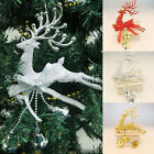Christmas Tree Home Ornament Deer Chital Hanging Xmas Baubles Party Decoration