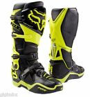 FOX STIVALI BOOTS CROSS ENDURO INSTINCT GIALLO FLUO 2017 MOTOCROSS