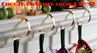 Gold Mantle Clips Christmas Stocking Fireplace Garland Hanger Set 2 3 4 5 Mantel