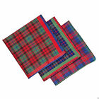 BBL22 Ladies Tartan Handkerchiefs - Set of 3