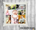Personalised Luxury Cushion Cover Any Image Or Photo Logo Text Ideal Gift Idea