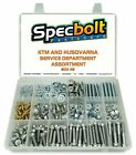 SPECBOLT KTM HUSQVARNA HUSABERG #2 FLANGE BOLT SET SERVICE DEPARTMENTS RACE KIT