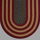 ANTIQUE AMERICAN FLAG COUNTRY BRAIDED AREA RUGS By COLONIAL