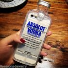 Creative Vodka Clear Alcohol Wine Bottle Phone Case Cover for iPhone6/6Plus/5/5S