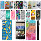 For HTC Desire 626 626S Art Design Protective Phone Hard Case Back Cover + Pen