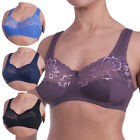 NEW LORETTA LINGERIE Non-Wired, Plus Size, Full Coverage & Support Bra N400