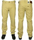 MENS BRAND NEW LEE JEANS DAREN REGULAR FIT BEIGE DESIGNER TROUSERS JEANS 28 - 42