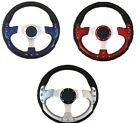 Boat Soft Grip Steering Wheel 320mm Mechanical & Hydraulic Helm standard 3/4 Tap