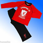 Boys Authentic Official Liverpool FC  Football Pyjamas Age 4 - 12 Years