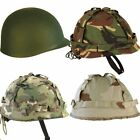 MA1 Adjustable Military Fancy Dress Costume Plastic Army Helmet With Cover
