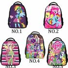 Girls' My Little Pony School Bag Backpacks Cartoon Children Bags W/Water Bottle