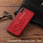 Crocodile Texture PU Leather Skin Phone Case Back Cover For iPhone 6/6s 7 Plus