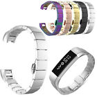 Stainless Steel Metal Wrist Watch Band Buckle Clasp For Fitbit Alta Bracelet