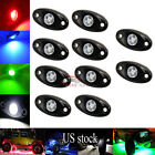 10PCS 3-CREE 9W High Power LED Rock Light Kit For Jeep Truck SUV Off-Road Boat