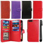 "For Apple iPhone 7 Plus 5.5"" Flip Magnetic Card Holder Wallet Cover Case + Pen"