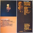 """Alice In Chains Nothing Safe Promo Double-sided Flats Lot 12"""" x 24"""""""