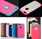 Dualpro Shockproof Hard Shell Hybrid Rugged Cover For iPhone 6 6s Case