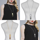 Fashion woman Tassel New Sweater Chain Pendant Gold Silver Plated Long Necklace