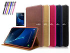 Samrt Folio Leather Cover Case For Samsung Galaxy Tab A  10.1 inch T580 T585