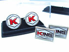 JAMES BOND 007 KING INDUSTRIES BADGE MENS CUFFLINKS GIFT $14.32 USD on eBay