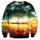 New Galaxy Women Men 3D Print Hoodie Sweatshirt Pullover Tops Tracksuit Jumper