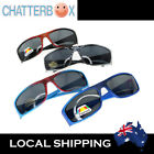 G&G Boys Cool Wrap Sunglasses Sporty Printed Spiderman Pattern + free carry case