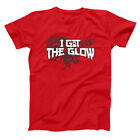 I Got The Glow  The Last Dragon Kiss My Converse Red Basic Men's T-Shirt image