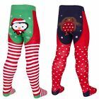Baby Girls Novelty Design Tights Babies Christmas Xmas Stretch Tights 0-24 Month