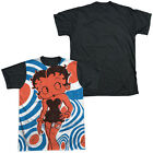 BETTY BOOP MOD RINGS Sublimation Men's Graphic Tee Shirt SM-3XL $26.06 USD