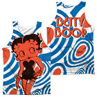 BETTY BOOP MOD RING Sublimation Men's Graphic Tank Top Sleeveless Tee F/B SM-3XL $30.16 USD