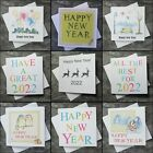 --- Happy New Year Cards -- 6 Card Multi Pack -- Choice of Designs ---