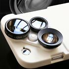 4 in 1 Wide Angle Macro Telescope Camera Lens Case Phone Cover For iPhone5/6/6s
