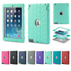 Defensive Heavy Duty Protect Case Cover for iPad 2 3 4 Mini 1 Air Pro 9.7 7.9