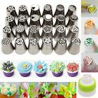 24 Pcs/Set Russian Flower Icing Piping Nozzles Cake Decorating Pastry Tools Tips