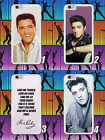 ELVIS PRESLEY/ROCK AND ROLL KING/LYRICS/HARD PHONE CASE/COVER/FOR IPHONE MODELS