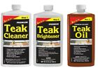 Starbrite Teak Care Teak Cleaner Teak Brightener Teak Oil 946ml